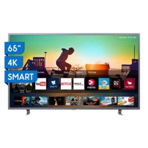 "TV Philips Ambilight Ultra HD 4K LED Smart 65"" 65PUD6703"