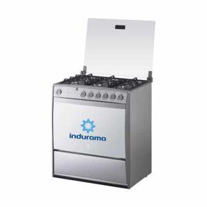 Cocina a Gas Indurama Parma P 6 Hornillas - Gris