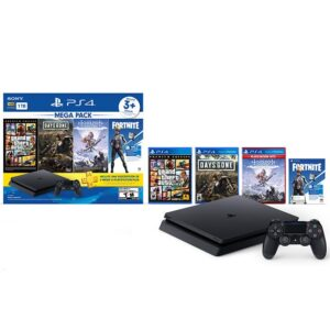 Mega Pack Playstation 4 1TB + GTAV + Days Gone + Horizon + Fortnite
