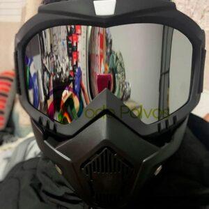 Máscara Modular con Gafas Desmontable