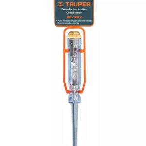 Probador de Corriente Alterna T/Desarmador 14cm Truper 13988 - Cromado