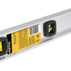 """Nivel de Aluminio 24"""" Pretul 22460 - Gris"""
