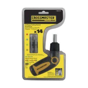 Desarmador Plegable con 14 Puntas Intercambiables - Crossmaster