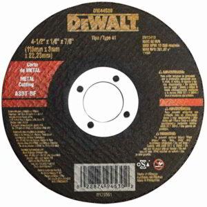 "Disco de Corte Metal 4.1/2"" x 7/8"" x 1/8"" DW44530 - Dewalt"