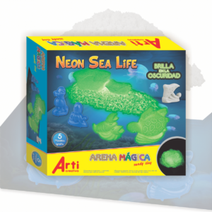ARTI ARENA MÁGICA - GLOW IN THE DARK- SEA LIFE