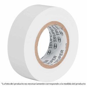 "Cinta Aislante Truper 3/4"" X 18m 12503 - Blanco"