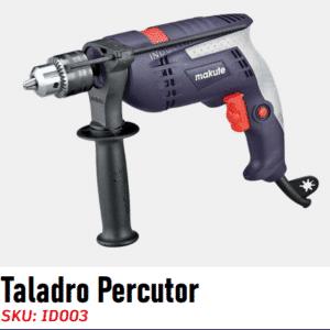 """Taladro Percutor 1/2"""" - 810W ID-003 CC Makute"""