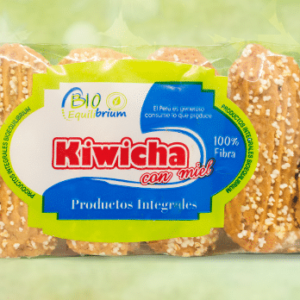 GALLETA INTEGRAL CON KIWICHA X 12 PQTS