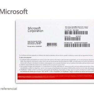 Microsoft Windows 10 Home 64 Bits Espanol 1PK