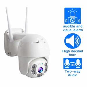 Camara de vigilancia IP WIFI domo exterior 1080 p PTZ