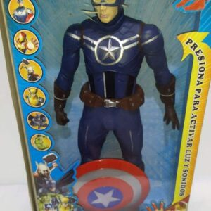 Capitan America Avengers juguete mediano