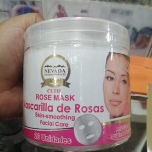 MASCARILLA DE ROSAS X 20 UND