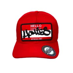 Gorra Hello Homies - Rojo