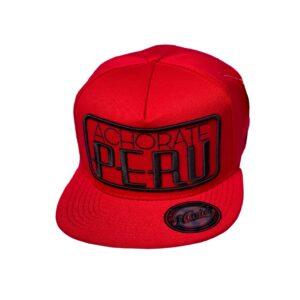 Gorra Achorate Perú - Rojo