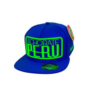 Gorra Achorate Perú - Azul eléctrico