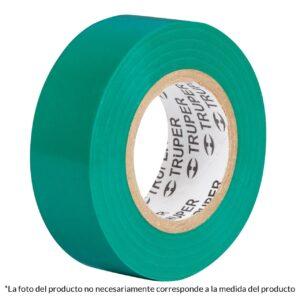 """Cinta Aislante Truper 3/4"""" X 18m 12502 - Verde"""