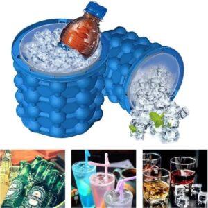 Hielera de silicona 120 cubos de hielo