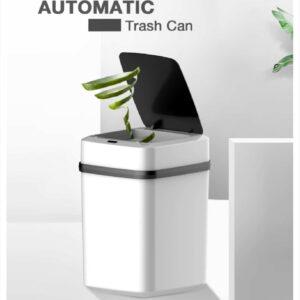 Tacho de basura inteligente papelera con sensor sin contacto 10L