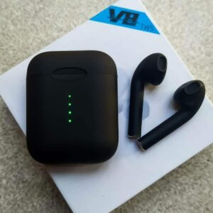 AUDIFONOS BLUETOOTH V8 AIRPODS INALAMBRICOS TACTIL LED