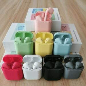 AUDIFONOS BLUETOOTH INALAMBRICOS I12 INPODS COLORES