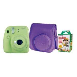 Cámara Instax Fujifilm Mini 9 + Estuche + Pack 20 fotos