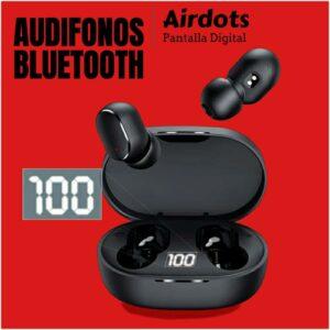 AUDIFONOS BLUETOOTH AIRDOTS INALAMBRICOS SONIDO3D PANTALLA DIGITAL