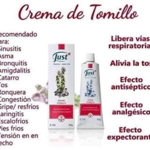 Crema De Tomillo- Swiss Just