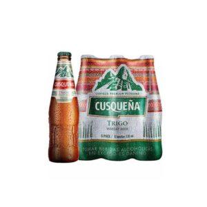 Cerveza Cusqueña de trigo Wheat Beer - Six Pack