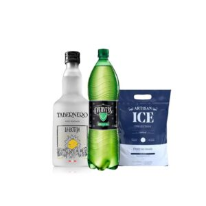 Pisco La Botija Acholado 700 ml + Evervess 1.5 Lt + HIELO 1.5 KG