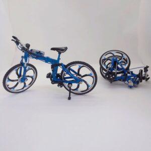 Bicicleta Plegable en miniatura a escala 1:10