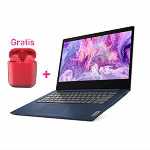 "Laptop Lenovo IdeaPad 3 14"" AMD Ryzen 5 Serie 4000 1TB 8GB - Gratis Audífonos Bluetooth"