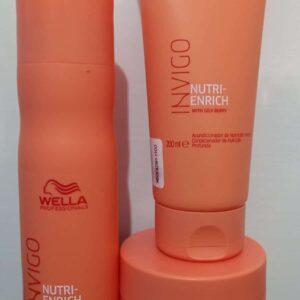 Shampoo + Acondicionador + Mascarilla Wella Invigo Nutri Enrich
