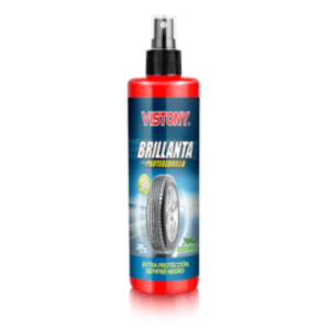 Abrillantador - Protege y Brilla de 300ml Vistony - Transparente