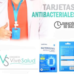 Tarjeta antibacterial - 60 días de duración