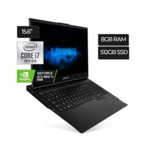 Laptop LENOVO LEGION 5 INTEL CORE I7 ‐ 8GB RAM | N‐VIDIA GEFORCE GTX 1660TI 6GB