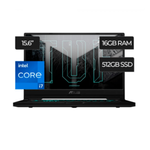 Laptop ASUS TUF DASH INTEL CORE I7 | 16GB RAM N‐VIDIA GEFORCE RTX 3060 6GB - 11°Gen