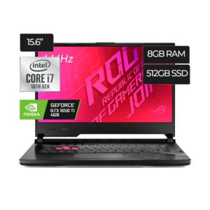 Laptop ASUS ROG STRIX G512LI‐BI7N10 INTEL CORE I7 | N‐VIDIA GEFORCE GTX 1650TI 4GB