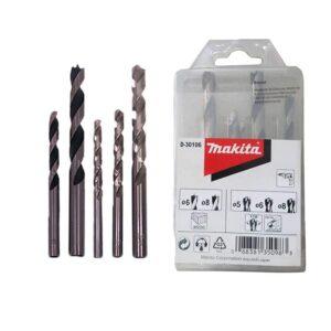 Set de 5 Brocas (2 madera y 3 metal) D-30106 - Makita